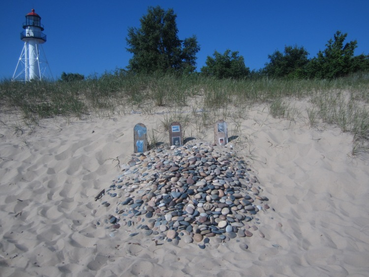 A memorial for the Edmund Fitzgerald
